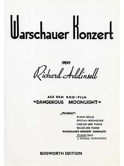 Richard Addinsell: Warsaw Concerto (Piano Solo) (Bosworth Edition) Livre | Piano