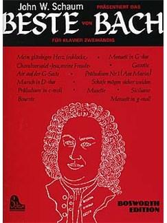 Das Beste Von Johann Sebastian Bach (John W. Schaum) Books | Piano