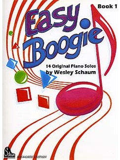Wesley Schaum: Easy Boogie Book 1 (German/English Edition) Books | Piano