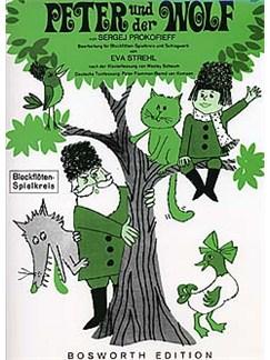 Peter Und Der Wolf (Blockfloten/Spielkreis) Buch | Blockflöte (Quartett)