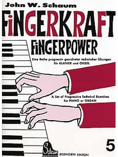 Schaum: Fingerkraft (Fingerpower) 5 Books | Piano