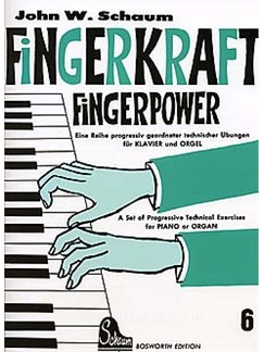 John W. Schaum: Fingerkraft Heft 6 (Fingerpower Book 6) Books | Piano (Keyboard)