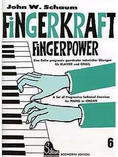 John W. Schaum: Fingerkraft Heft 6 (Fingerpower Book 6) Buch | Klavier