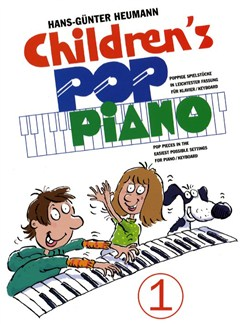 Children's Pop Piano 1 Buch | Klavier, Keyboard