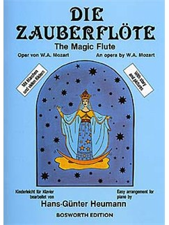 W.A. Mozart: The Magic Flute (Easy Piano) Buch | Klavier
