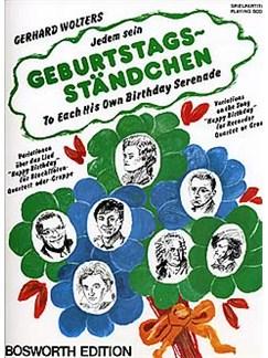 Jedem Sein Geburtstagsständchen / To Each His Own Birthday Serenade Books | Recorder (Quartet)