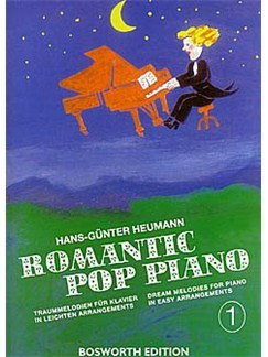 Romantic Pop Piano 1 Books | Piano