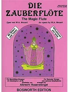 Die Zauberflöte Buch | Querflöte, Metallophon