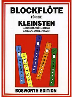 Blockflote Fur Die Kleinsten Books | Recorder (Big Notes)