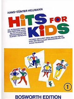 Hits For Kids 1 Livre | Clavier, Piano