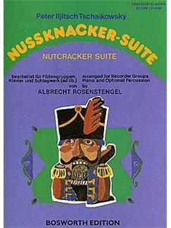 Pyotr Illyich Tchaikovsky: Nutcracker Suite (Recorder Ensemble) Livre | Ensemble De Flûte, Accompagnement Piano, Percussion