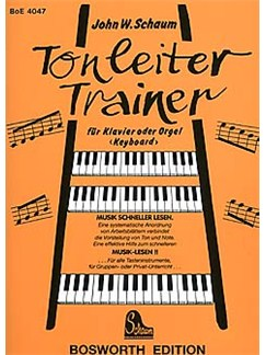 Tonleiter-Trainer Books | Piano