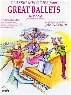 John W. Schaum: Classic Melodies From Great Ballets (Easy Piano) Bog | Klaver solo