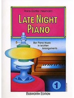 Late Night Piano 1 Books | Piano (with Chord Symbols)
