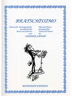 Bratschissimo - Viola And Piano Books | Viola, Piano Accompaniment