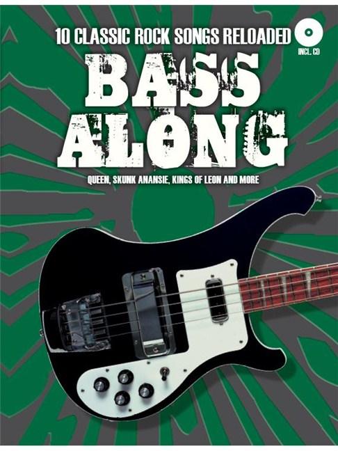 Bass Along 10 Classic Rock Songs Reloaded Bass Guitar Sheet Music