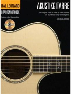 Hal Leonard: Gitarrenmethode Für Akustikgitarre (Book/CD) Books and CDs | Acoustic Guitar