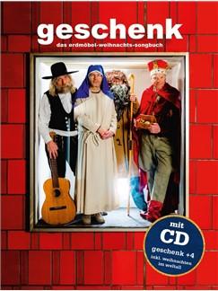 Geschenk: Das Erdmöbel-Weihnachts-Songbuch (Buch/CD) Buch und CD | Melodielinie, Text & Akkorde