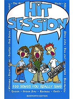 Hit Session: 100 Songs You Really Sing Books | Melody Line, Lyrics and Chord symbols