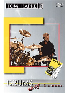 Tom Hapke: Drums Easy And A Lot More (Double DVD) DVDs / Videos | Schlagzeug