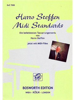 Harro Steffen: Middi Standards Bog og CD-Roms / DVD-Roms | Klaver solo