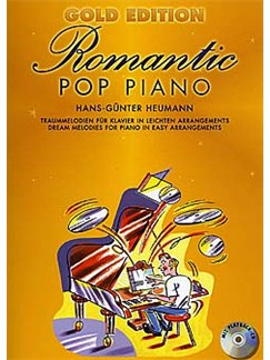 Gold Edition Romantic Pop Piano Books and CDs | Piano And Guitar (with Chord Symbols)