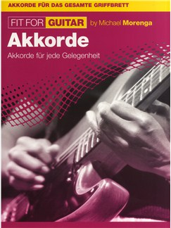 Michael Morenga: Fit For Guitar - Akkorde Buch | Gitarre (mit Griffbildern)