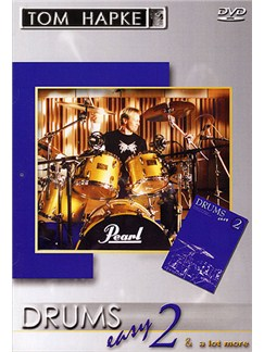 Tom Hapke Drums Easy 2 DVDs / Videos | Drums