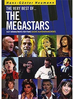 The Very Best Of... The Megastars Buch | Klavier (mit Akkordsymbolen)