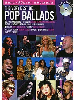 The Very Best Of... Pop Ballads Books and CDs | Piano (with Chord Symbols)