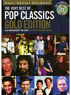 The Very Best Of... Pop Classics (Gold Edition) Books and CDs | Piano (with Chord Symbols)