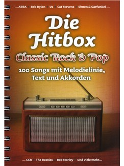Die Hitbox: Classic Rock & Pop Books | Melody Line, Lyrics & Chords