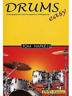 Tom Hapke: Drums (Easy) - Pädagogisches Lehrkonzept für Schlagzeug (Book/DVD) Buch und DVDs / Videos | Schlagzeug