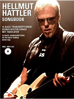 Hellmut Hattler: Songbook Books and CDs | Bass Guitar Tab