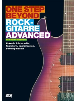 One Step Beyond - Rock-Gitarre Advanced DVDs / Videos | Guitar