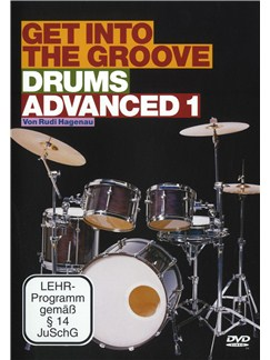 Rudi Hagenau: Get Into The Groove - Drums Advanced 1 DVDs / Videos | Drums