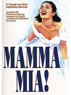Mamma Mia (Deutsch) Books | Piano, Vocal & Guitar (with Chord Boxes)