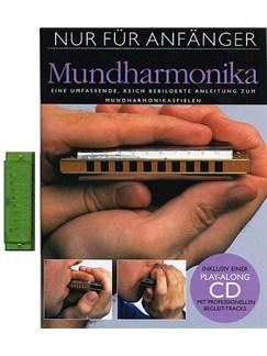 Nur Für Anfänger: Mundharmonika (Mit Mundharmonika) Buch, CD und Instrument | Mundharmonika