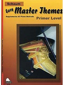 Schaum: Easy Master Themes - Primer Level Books | Piano