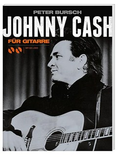 Peter Bursch: Johnny Cash Für Gitarre (Book/CD/DVD) - German Books, CDs and DVDs / Videos | Guitar