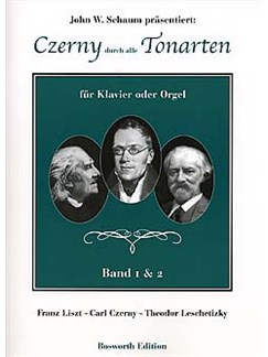 Carl Czerny: Durch Alle Tonarten - Band 1 And 2 Books | Piano or Organ