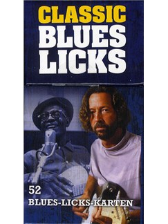 Classic Blues Licks - Flashcards (German Language Edition)  | Guitar Tab