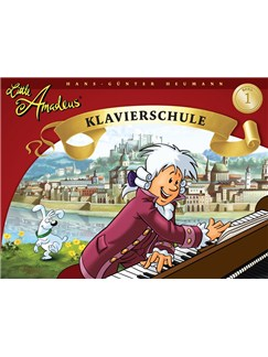 Hans-Gunter Heumann: Little Amadeus - Klavierschule (Band 1) Books | Piano