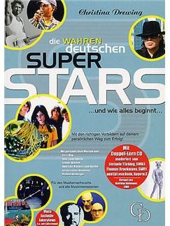 Christina Drewing: Die Wahren Deutschen Superstars ...Und Wie Alles Beginnt CD y Libro |