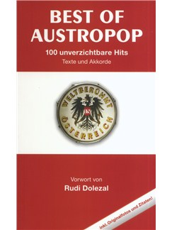 Best Of Austropop - 100 Unverzichtbare Hits (Texte Und Akkorde) Books | Lyrics & Chords