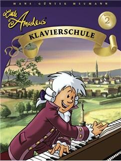 Hans-Gunter Heumann: Little Amadeus - Klavierschule (Band 2) Books | Piano