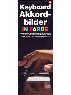 Keyboard Akkord-Bilder In Farbe Buch | Keyboard
