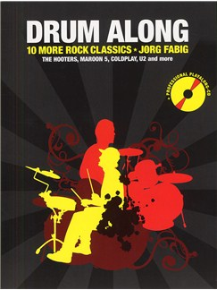 Drum Along - 10 More Rock Classics Books and CDs | Drums