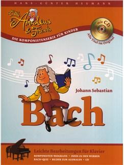 Hans-Günter Heumann: Little Amadeus Und Friends - Johann Sebastian Bach Buch und CD | Klavier