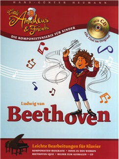 Hans-Günter Heumann: Little Amadeus Und Friends - Ludwig Van Beethoven Books and CDs | Piano